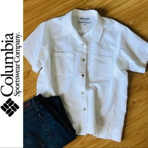 Columbia Button Down Top